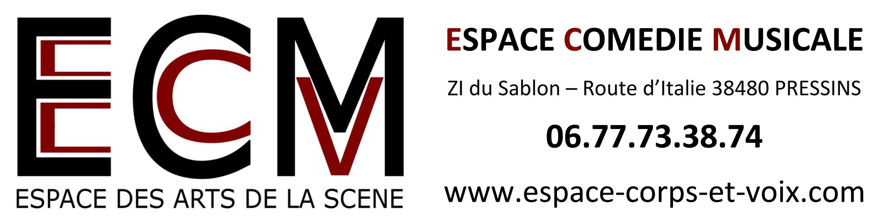 ECM espace comédie musicale danse chant théâtre Isère 38 Pressins, Romagnieu, Pont de Beauvoisin, Aoste, Les Abrets